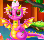 Cute Dragon Caring And Dressup